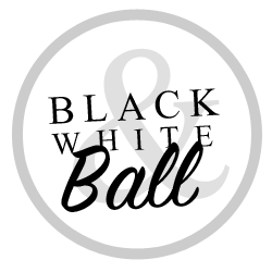 petreceri tematice black white ball